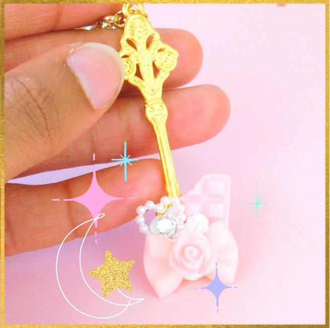 I just love combining Sailor themes with sweets! ♡ https://t.co/vPFK5R1XDR ♡ . . . #eglcommunity #sweetlolita #magicalgirl #sailormoon #kawaiijewelry #fairykei #mahoukei https://t.co/c6fsmyaE80