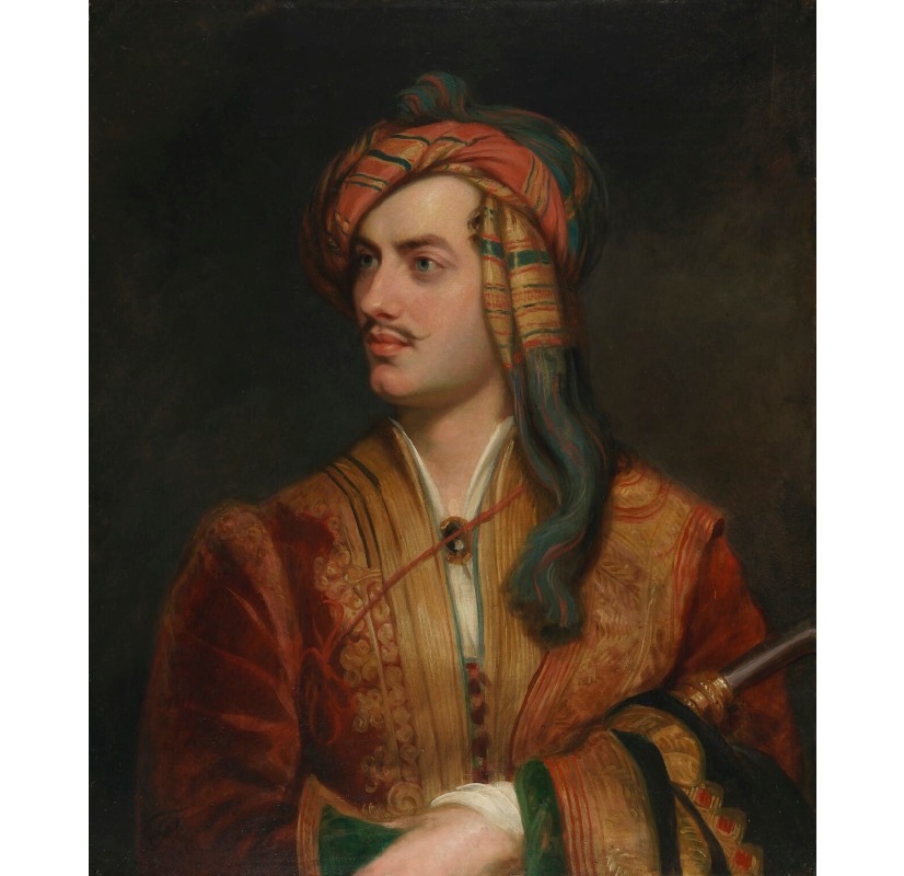 """""""I know no friends who need to be left out of a good poem."""" (Lord Byron)  The last quote from #LGBTIQ writers is Lord Byron. His spirit is something the LGBTIQ community embodies.  Read more  https://t.co/Dx7440WL5l   📸: Lord Byron, The National Portrait Gallery, London. https://t.co/ZlkqXBspjK"""