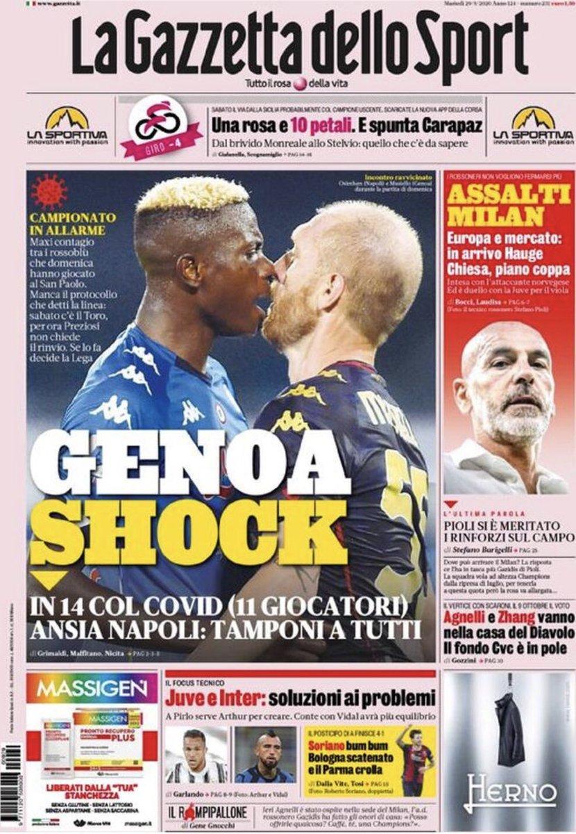 Buongiorno rossoneri! Ecco le prime pagine dei quotidiani sportivi oggi in edicola  #Milan #LaGazzettadelloSport #CorrieredelloSport #Tuttosport #rassegnastampa #rossonerisiamonoi #ilsalottodelcalcio https://t.co/C8PhH11xjw