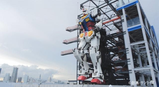 【こいつ…動くぞ!】横浜の「動く実物大ガンダム」12月19日より公開毎時00分と30分に特別な動きをし、ライトアップによる演出も行われる予定。チケットは10月2日から発売。