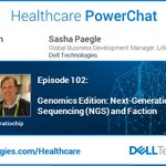 Image for the Tweet beginning: Healthcare PowerChat #102 Genomics Ed: