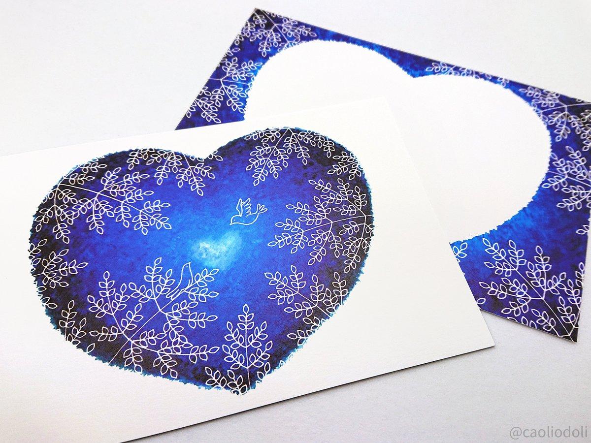 みんなでシェア☆企画展 vol.104参加 @Lupopo_cafe 様 いつもありがとうございます🍀  青い絵の具と白いペンで森を描いています🎨  つくしのグリーティングカード展・スマホケース展【名古屋】三省堂書店 参加中 https://t.co/vxdHfko3Hq 初のプレゼント企画も開催中🎁 https://t.co/ugUo6CCkmm