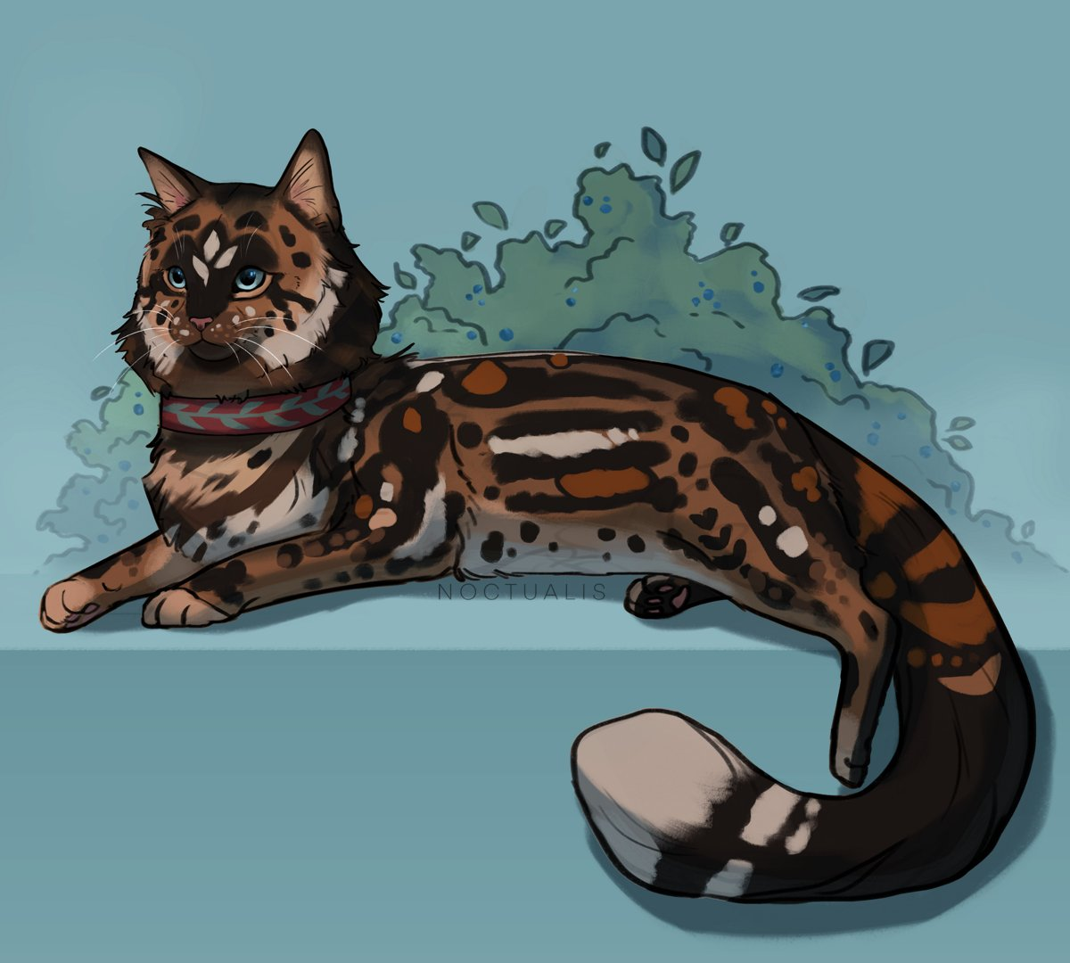 Donation commission for kitaki on deviantart! That's the last commission I'll be doing for now! Thanks for all the donations to the cause. #tiltify #catart #warriorcats #krita https://t.co/iYtyHHbEHP