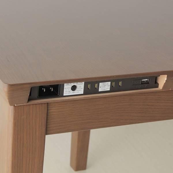 AEON推出了帶有插座和4個USB接頭的暖桌 EjDQgU1U0AEGFz5