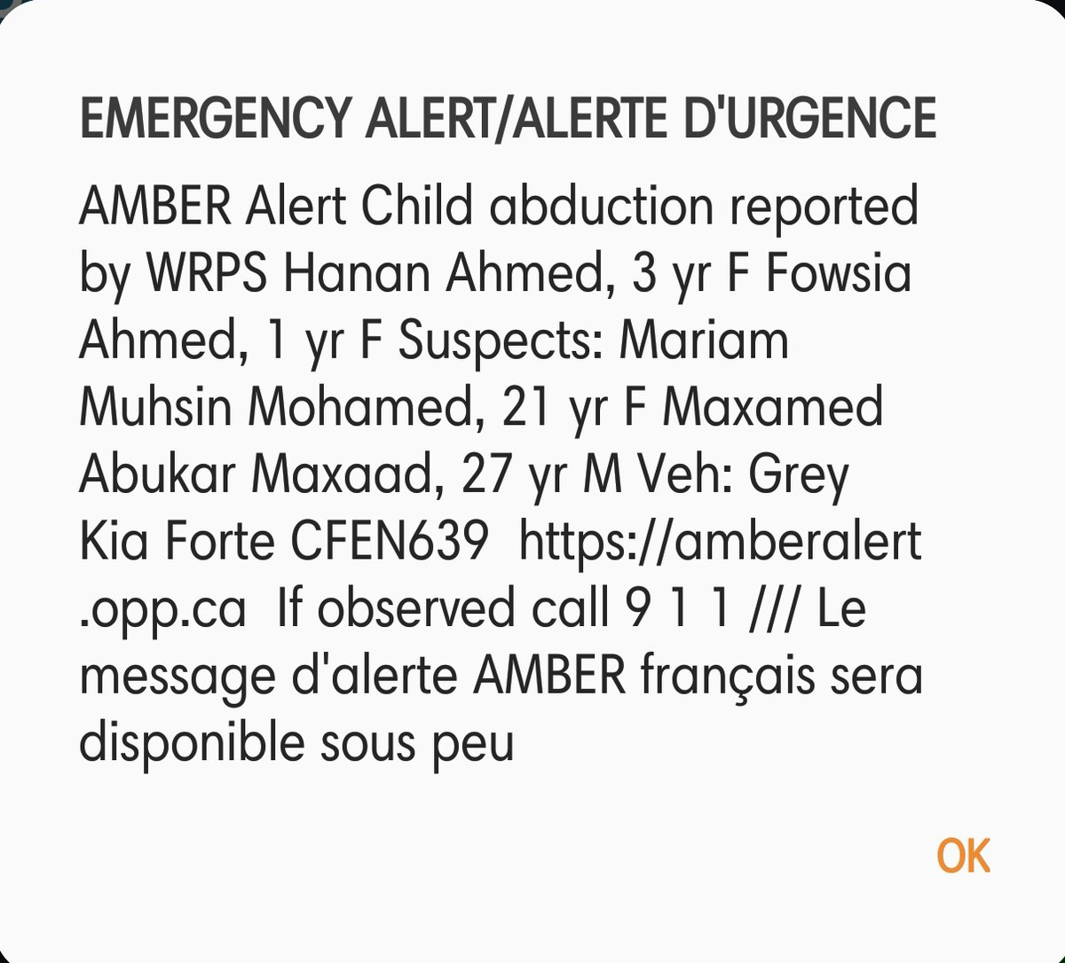 Amberalert Twitter Search