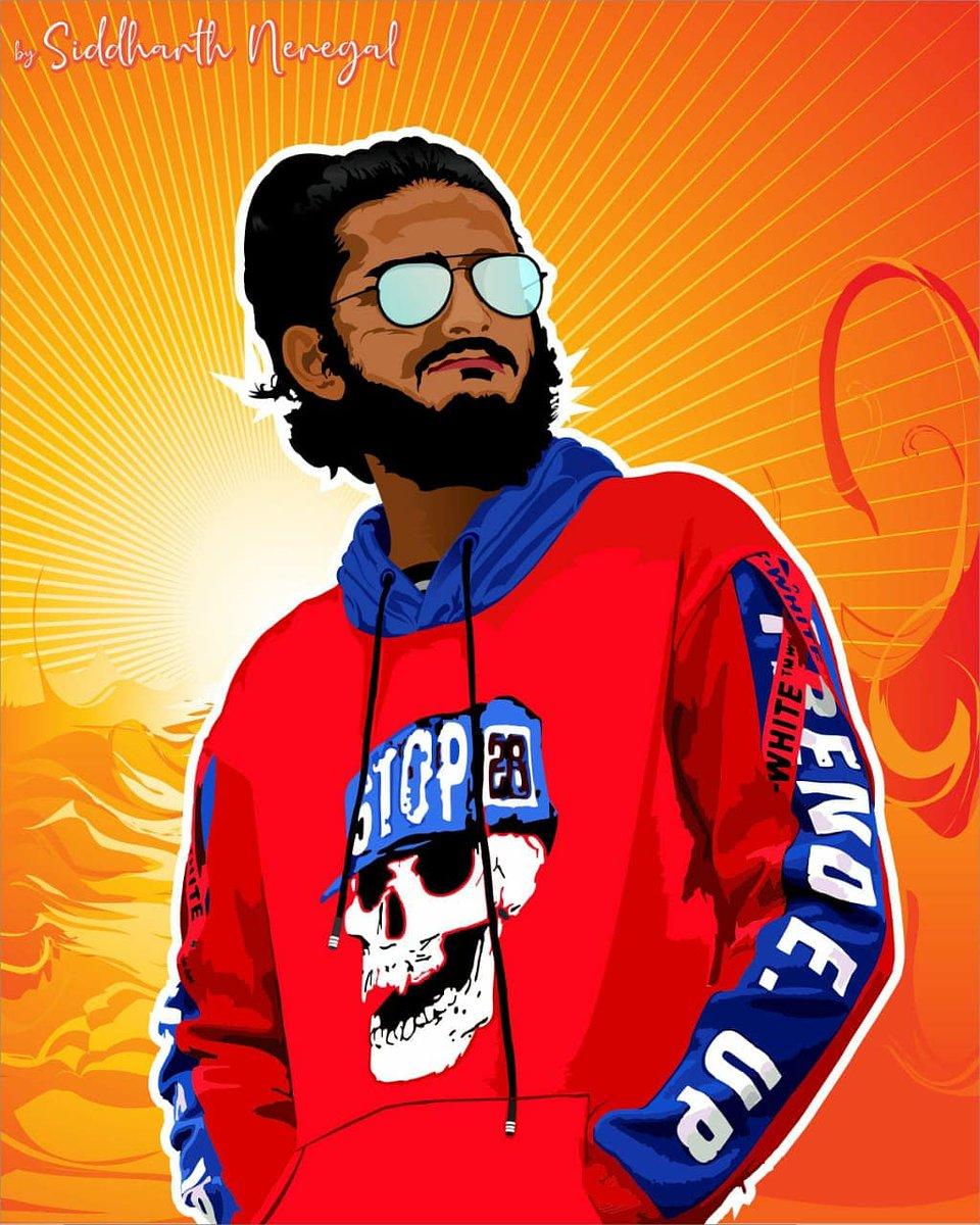 Thanks for order #vectorart #graphicdesigner #KGFChapter2 #poster #caricature #designer #vector #KGF2 #rocky #Likee #FolloMe https://t.co/jj0jrsGGgO