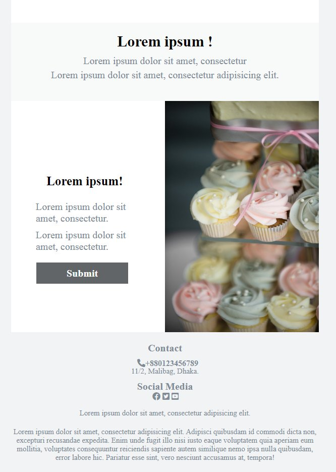 Check out my #fiverrgig on #Fiverr : I will design html email template and mailchimp template https://t.co/Qqyn6WErWB  #emailtemplates #emailtemplate #mailchimp #mailchimptemplate #webdesign #freelancing #designer https://t.co/XPv82FQnjg