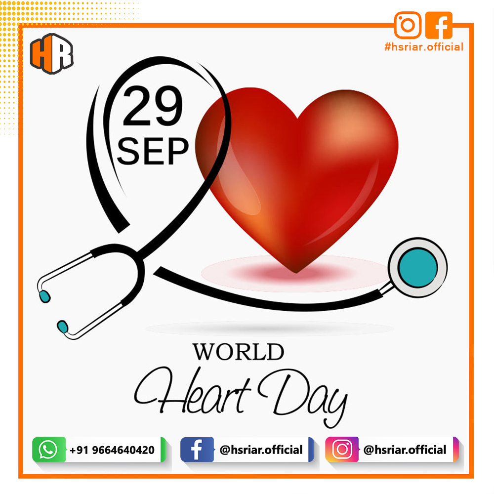 World Heart Day 2020...!!!!  Follow Us @hsriar.official  Contact Us Email: hsriar.work@gmail.com Whatsapp: +91 9664640420  #heartday #worldheartday #hsriar #graphics #designer #marketing #life #health #india #mumbai #heart #day #specialdays #hsriarofficial #digitalmarketing https://t.co/hSdIIie60A