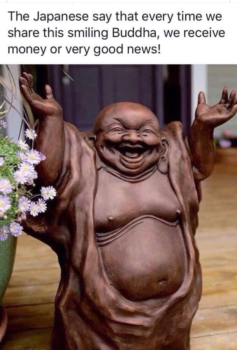 #Buddha #onlyGoodNews https://t.co/IWbZ4WjLXf