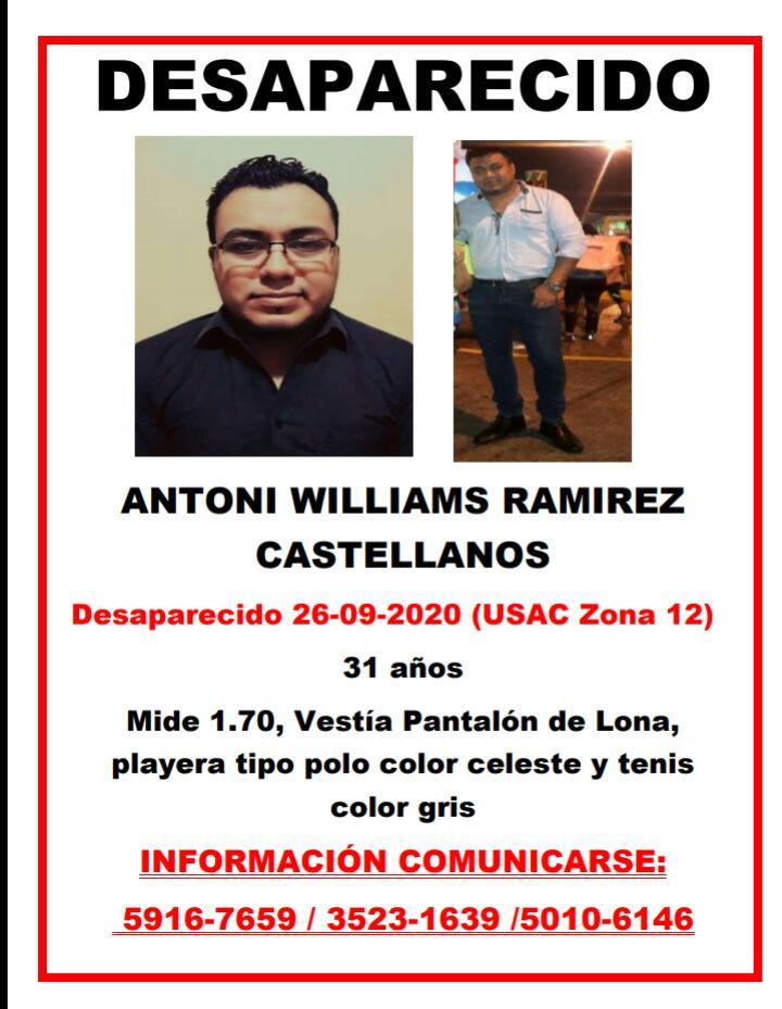 test Twitter Media - SERVICIO SOCIALSolicitamos a nuestros lectores compartir el siguiente boletín o de contar con información del paradero de Antoni Williams Ramírez Castellanos comunicarse a los teléfonos consignados en la imagen. https://t.co/azKTBNb1k2