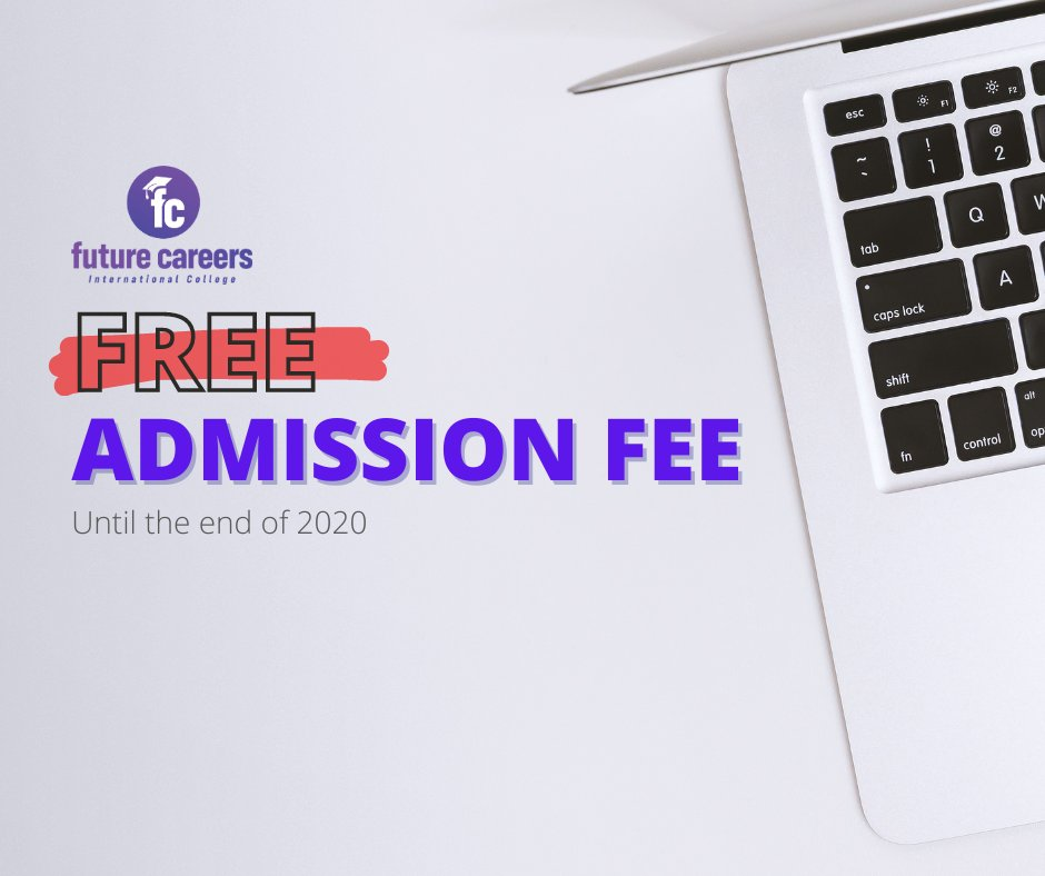 Yes, you heard it right! Free admission fee when applying to one of our Professional+ courses! Valid until the end of 2020.  ➡️ https://t.co/HK3jAHso7E  #studyonline #professionaldevelopment #offer #freeadmission #professionalcourse https://t.co/dRLLUeNGhj