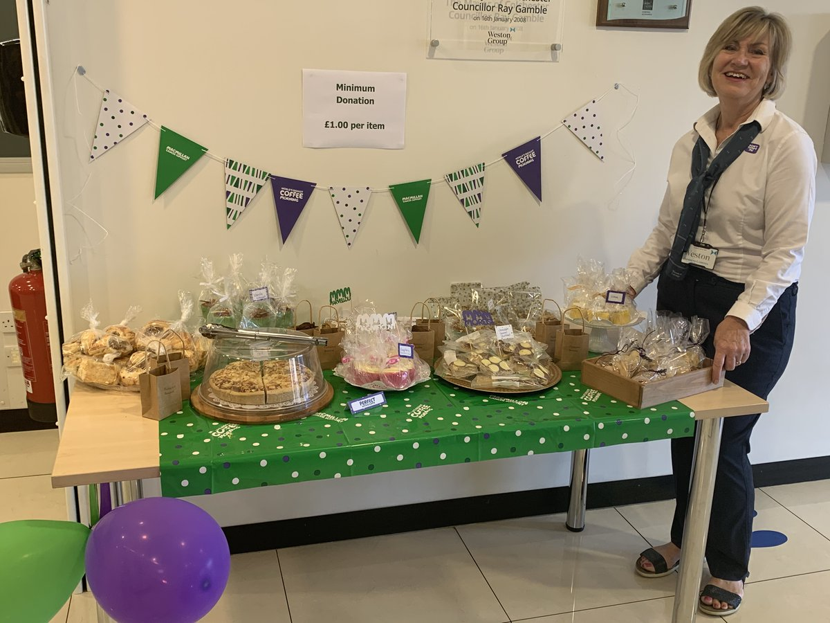 Some good news to brighten up this grey day 🎉 ⁣ Across our #Stansted & #Colchester business centres we raised an amazing £342.85 for Macmillan Cancer Support 🤩 ⁣ Thank you to everyone who contributed to this amazing cause🧁 ⁣ #CharityTuesday #macmillancoffeemorning
