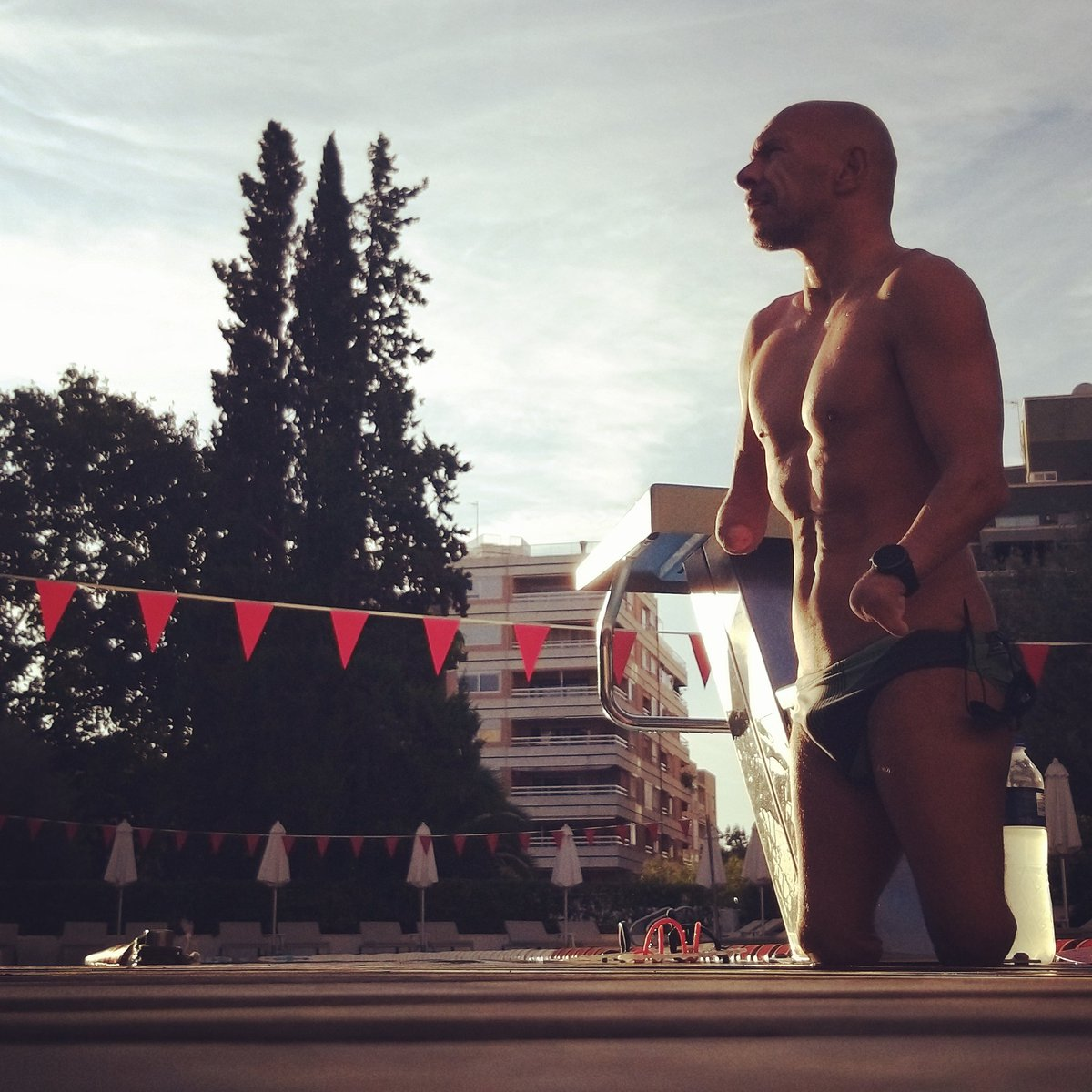 Swim ✅  ☺☺☺   😍🏊♂️💪  #swimmer #swimming #memories #Paraswimming #openwater #natacion #xavitorres #happy #happines #SinMiedoaCaerme #mallorca #smile #sonrisa #bondia #goodmorning #buenosdias https://t.co/IOwvrpbEDE