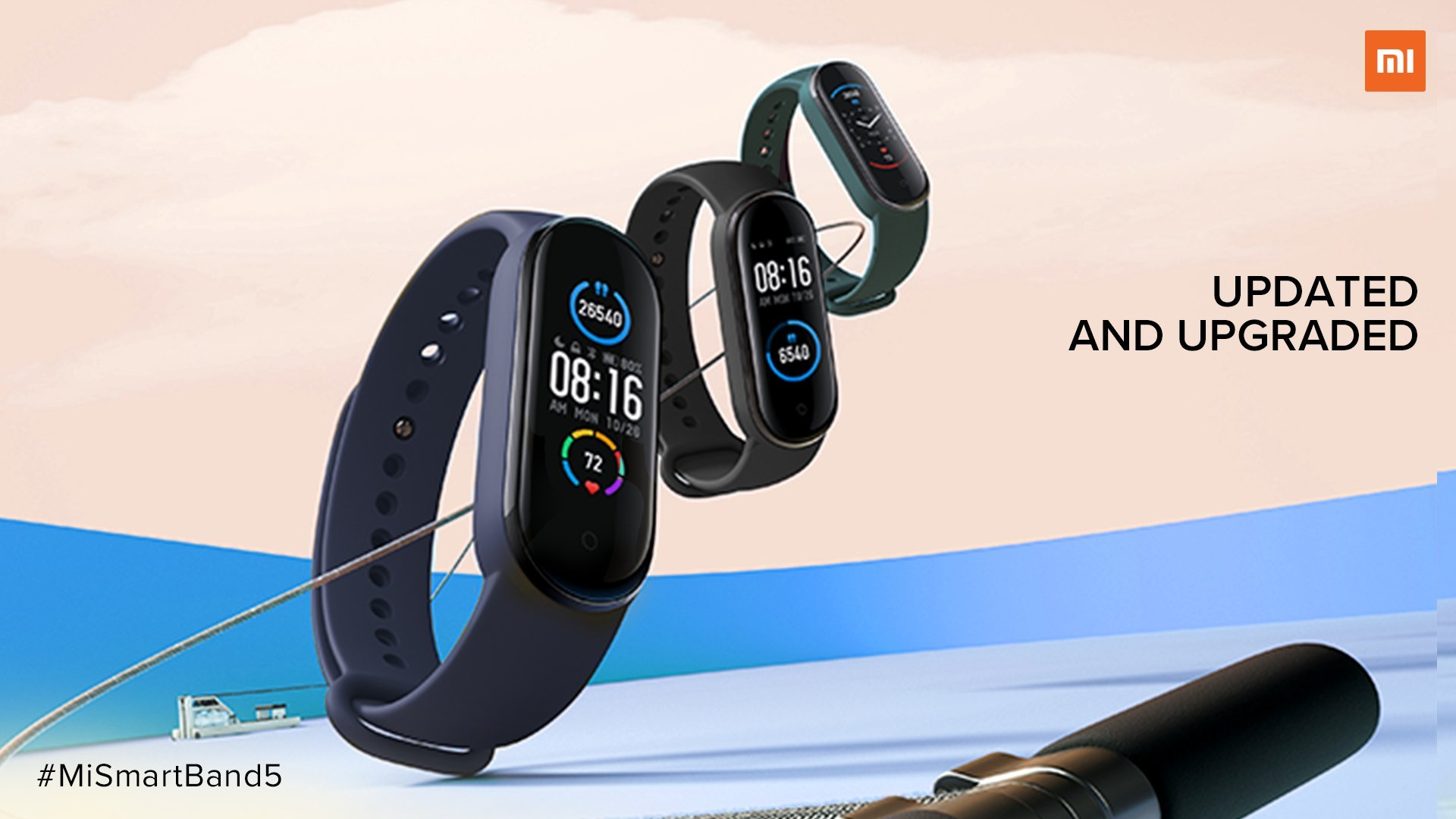 Mi Smart Band 5 Launched in India for Rs.2,499