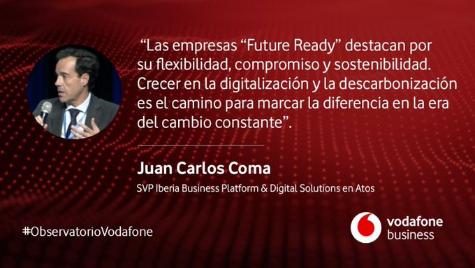 From Atos we invite you tomorrow 09/29 to the presentation of the #FutureReady...
