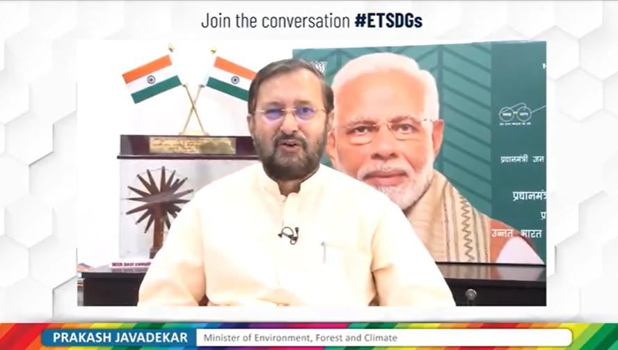 Let's hear from Prakash Javdekar himself in @ET_Edge about the Changes in environment which needs be done and how we can achieve better future for all.  #ETSDGs  #BuildBackBetter #ForPeopleForPlanet🌎 https://t.co/DQJjTk9ywz