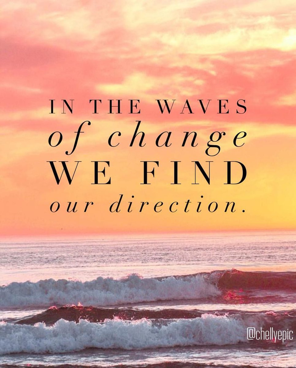 In the waves of change we find our direction.  #citation #quotes #motivationalquotes #motivation #StayHomeStaySafe #FridayFeeling #fbf #FlashbackFriday #FridayMotivation https://t.co/ZKYxg5zBQq