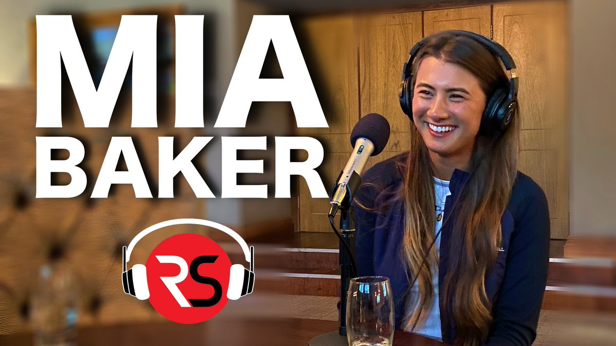 🎤 NEW PODCAST OUT NOW!  Ft The incredible story of beginner golfer Mia Baker!  🎧 APPLE PODCAST    🎧 SPOTIFY