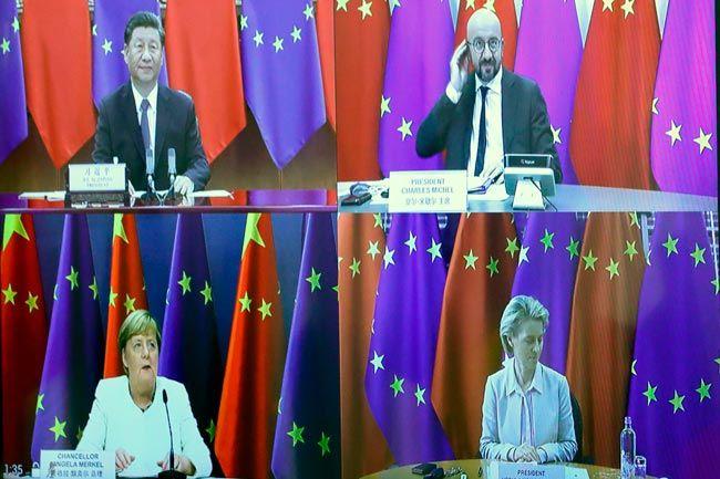 【地球コラム】中国に人権カードを突きつける欧州  ②◆外相ら欧州歴訪も香港、ウイグルに一斉非難  欧州側の中国人権問題に対する批判姿勢が鮮明になったのは、9月14日に行われたメルケル独首相(現欧州連合=EU=議長)、ミシェル大統領らEU執行部と習…  続きはこちら⇒https://t.co/f4vdYVh95M https://t.co/baJtcPvuqo