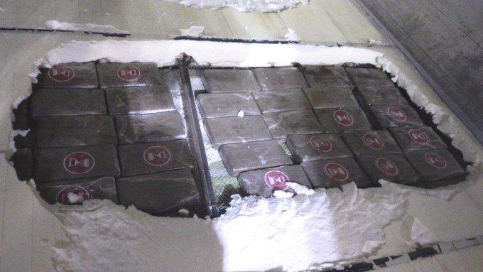 Douane vindt cocaïne in bodem zeecontainer https://t.co/TVsXAUDfRR https://t.co/liIdSYcjMz