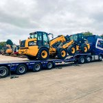 Image for the Tweet beginning: Two JCB TM320s leaving the
