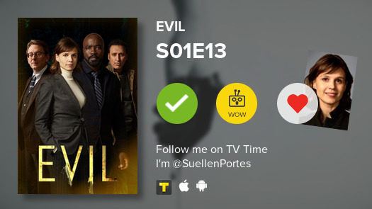 Acabei de assistir o episódio S01E13 de Evil #evil  #tvtime https://t.co/aN7kjmaGXz https://t.co/ZFxvBc5YU3
