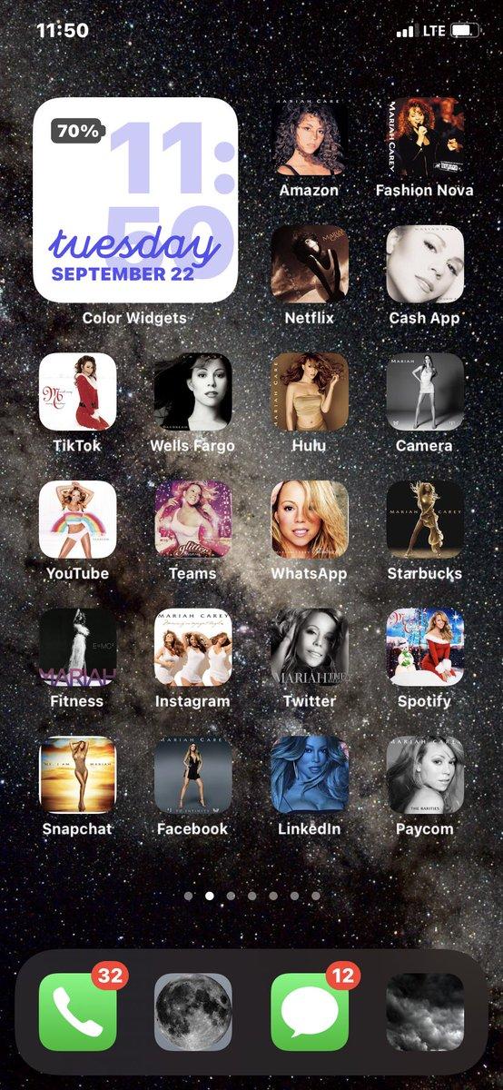 In love ❤️ @MariahCarey  #ios14 #iosMariahCareyChallenge https://t.co/1UvLOncUao