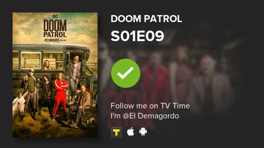 Se que no te interesa pero acabo de ver S01E09 de Doom Patrol! #doompatrol  #tvtime https://t.co/lIFnGIHK4u https://t.co/YsomY3Lrkb