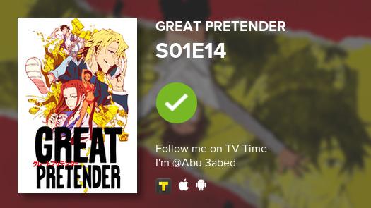 I've just watched episode S01E14 of Great Pretender! #greatpretender  #tvtime https://t.co/bfNPS14xks https://t.co/y9UD8bZ5Lt