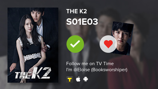 I've just watched episode S01E03 of The K2! #k2  #tvtime https://t.co/Vyji0MwN9J https://t.co/bYOQthBQ1c
