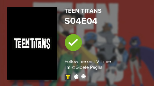 I've just watched episode S04E04 of Teen Titans! #teentitans  #tvtime https://t.co/oKOh5rcaZC https://t.co/lcyf9b1hJW