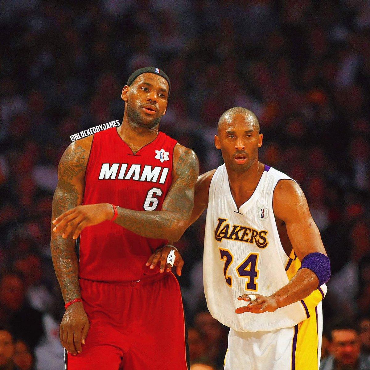 The Lakers-Heat Finals we SHOULD'VE got in 2011... 👑 x 🐍 @KingJames