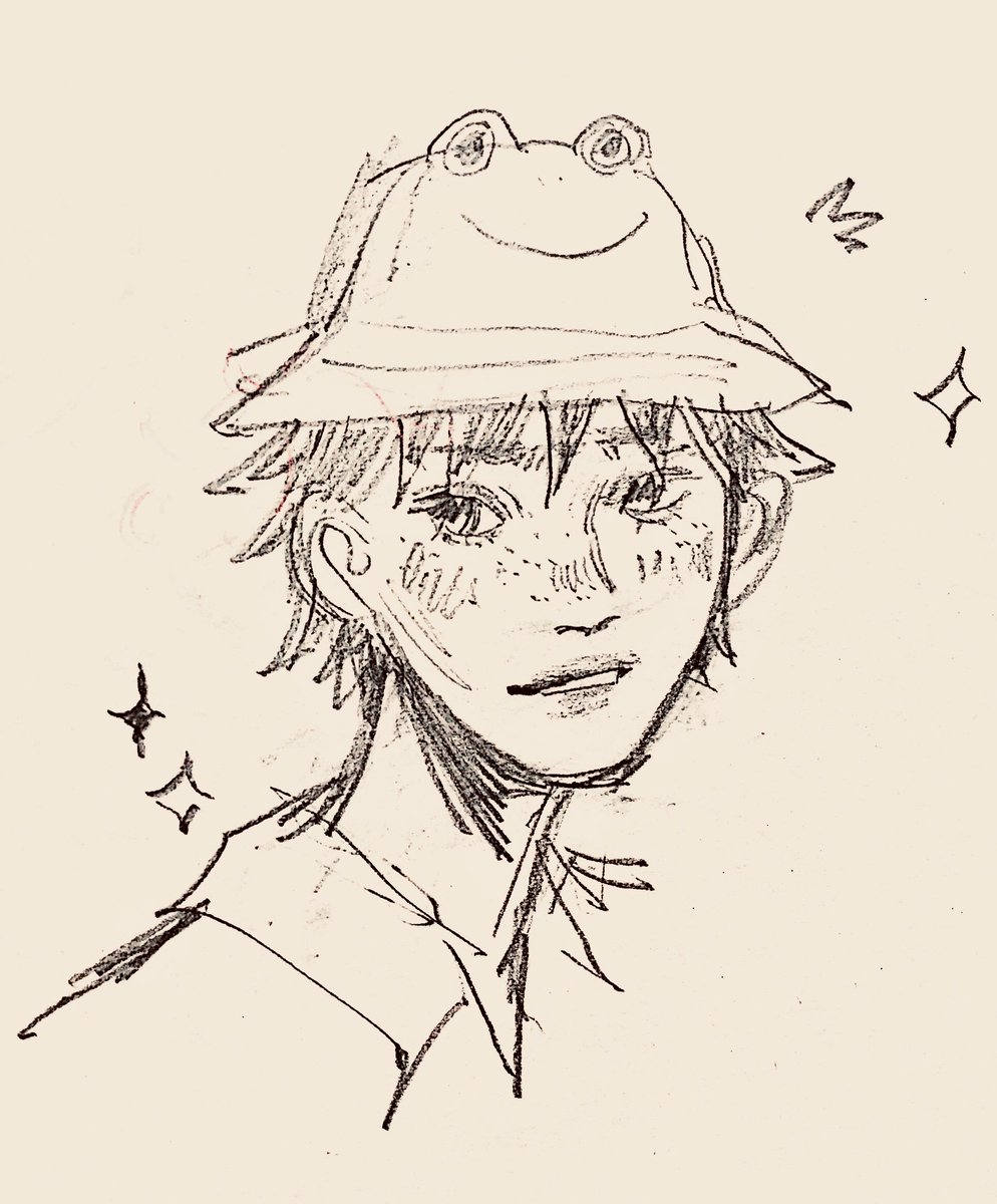 Jamo On Twitter Day 1 Of Drawing Yamaguchi Wearing Froggy Bucket Hat Until I Get A Froggy Bucket Hat 3 Https T Co Tqbgbolwco