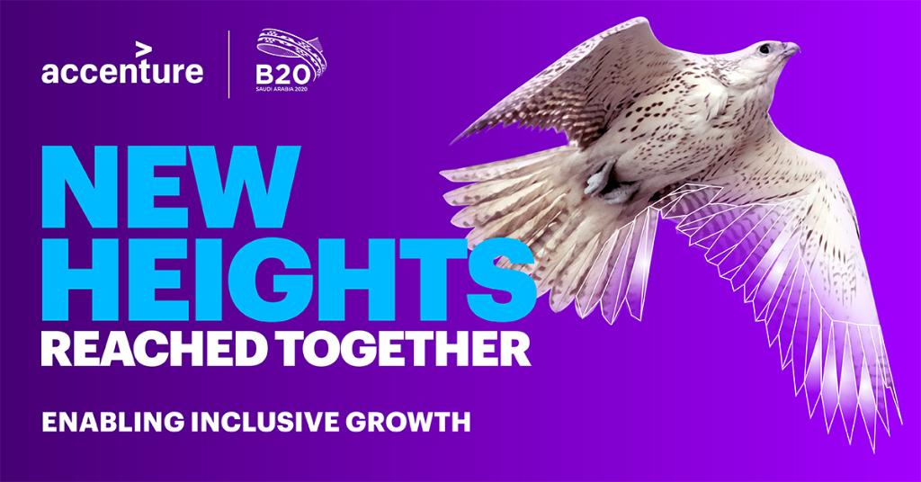 The #B20SaudiArabia Knowledge Partners have contributed invaluably to #B20's work by providing inputs, conducting research & coordinating processes across Taskforces. We appreciate @Accenture's contribution to the #B20WomeninBusiness & #B20FutureofWorkandEducation policy papers.