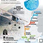 Fantastic adventure: two Pipistrel Velis Electro flew from Lausanne (Switzerland) to Aix-les-Milles (France).   https://t.co/SGyrcLtM0b