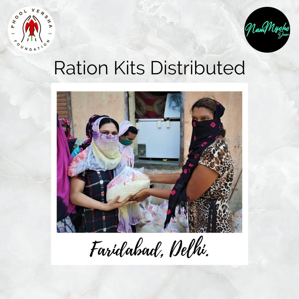 With business operations resuming slowly, many are yet to find a stable means to provide for their families. We have managed to help few with your support in Faridabad, Delhi. Many need your help more than ever. So, donate here and help make the difference.  #FeedTheHungry