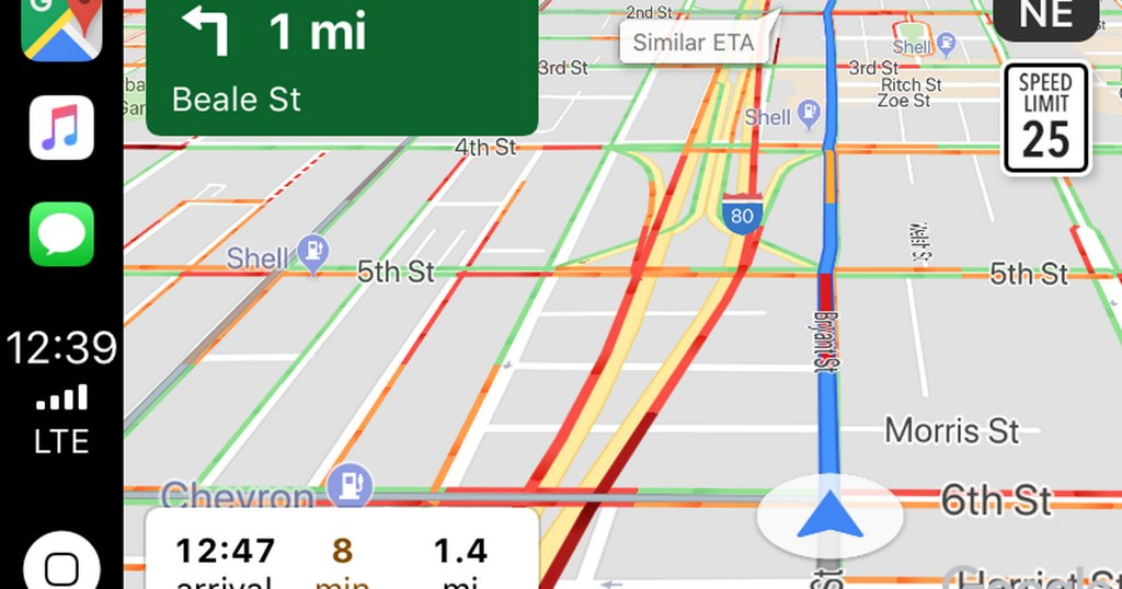 With Google Maps on Apple CarPlay, iPhone owners can finally ditch clunky mounts
