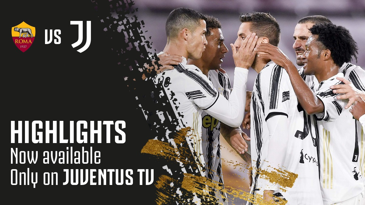 🎥 𝗡𝗼𝘄 𝗽𝗹𝗮𝘆𝗶𝗻𝗴 𝗼𝗻 @JuventusTV: ⚽️🎞#RomaJuve highlights ➡️ https://t.co/zvEayDHny2 https://t.co/uNHu3b3g9M