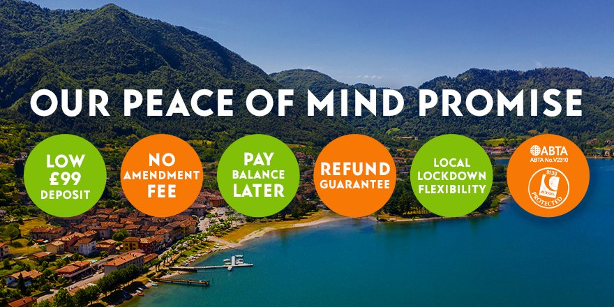 Our peace of mind promise means your money, and your holiday, is safe with us. https://t.co/LCuhBnG0X0 https://t.co/nEWmwdiFMu