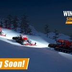 Image for the Tweet beginning: Coming Soon: Winter Resort Simulator