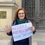 Image for the Tweet beginning: #Pflege macht sich stark für