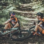 'One thing we can all take away from the past few months is to enjoy the little things in life'.  Thanks to @TORQfitness for these stunning pictures of our TORQ #MTB Performance Team cycling kit.  #ukcyclechat #TORQFuelled