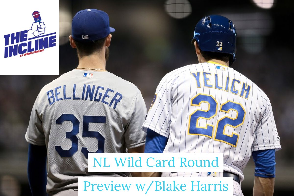 #Dodgers Wild Card Round Preview Special with @BlakeHarrisTBLA of @truebluela out now!  Let us know your thoughts on what it will take to get past the #Brewers   Available on every podcast platform   Apple: https://t.co/uvliJb7I4W https://t.co/6OTTYlclcv