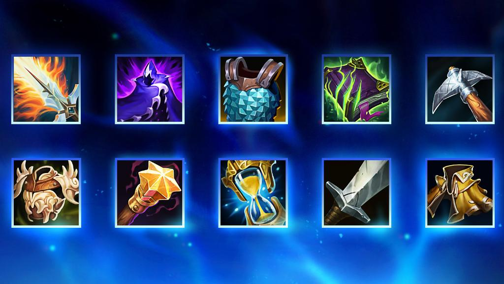 New Mythic and Legendary items are set to hit PBE for a six-week testing period! Check out the full article for an in-depth breakdown of their:   💰 Cost ➕ Stat bonuses  💥 Abilities  ✨ Passives  Read it 👇  https://t.co/H08jfCBGzK https://t.co/L8UBTZYkrU