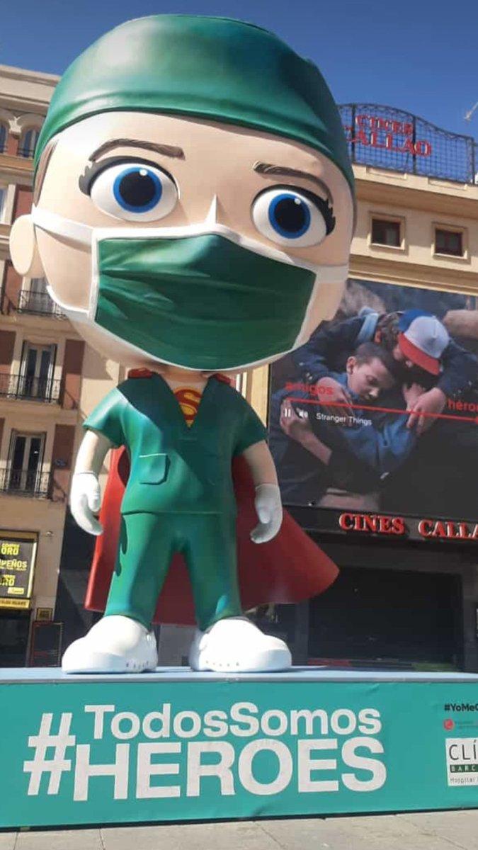 ¡Gracias! Pronto conoceréis el próximo destino de nuestra #SuperSanitaria. 🤗🤗🤗 #TodosSomosHéroes #YoMeCorono