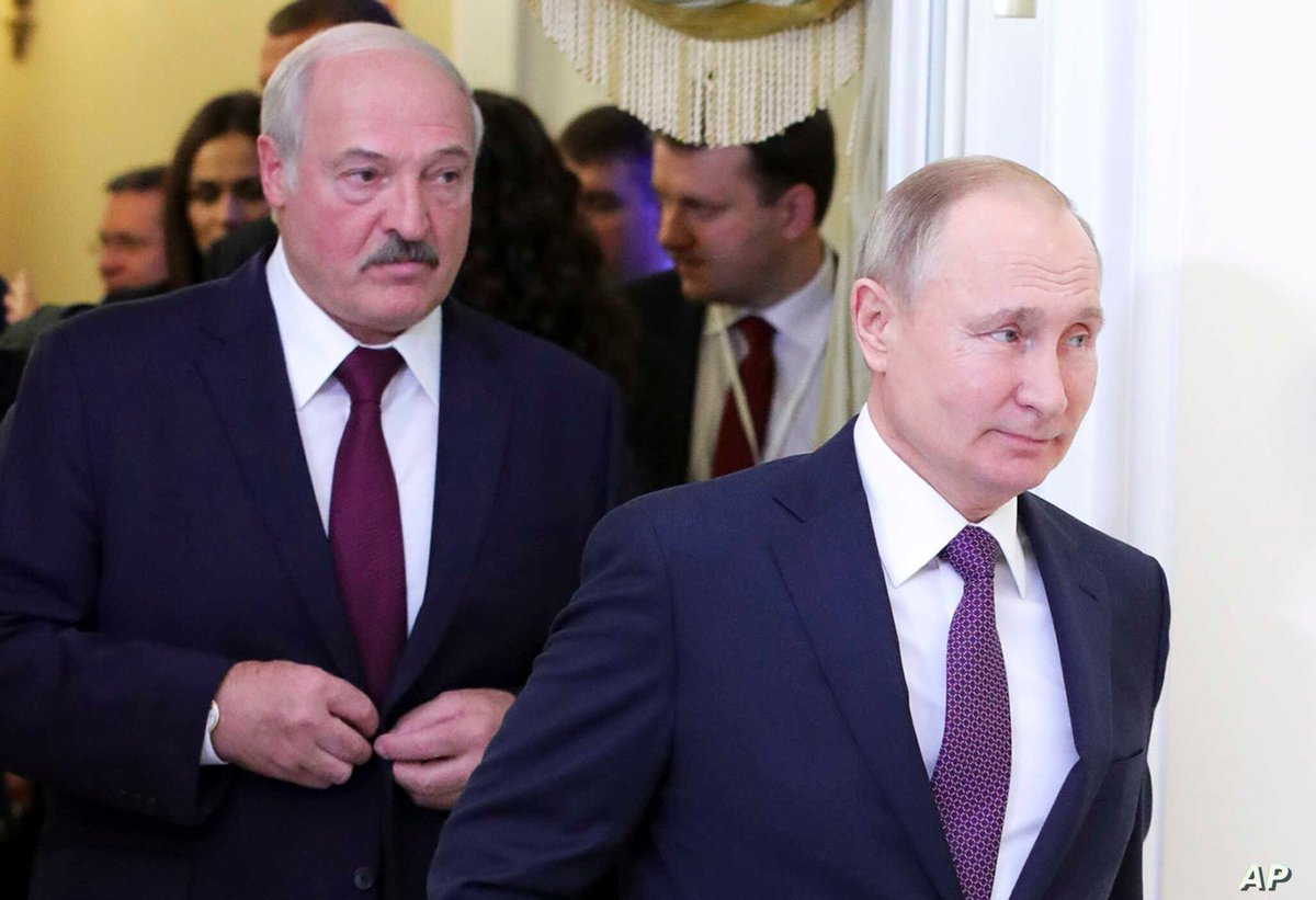 Reuters: #Britain and #Canada imposed travel bans and asset freezes on Tuesday on #Belarusian_President Alexander #Lukashenko, his son and other senior officials over accusations their government rigged an election and committed violence against protesters. https://t.co/ScRhCjMQWW