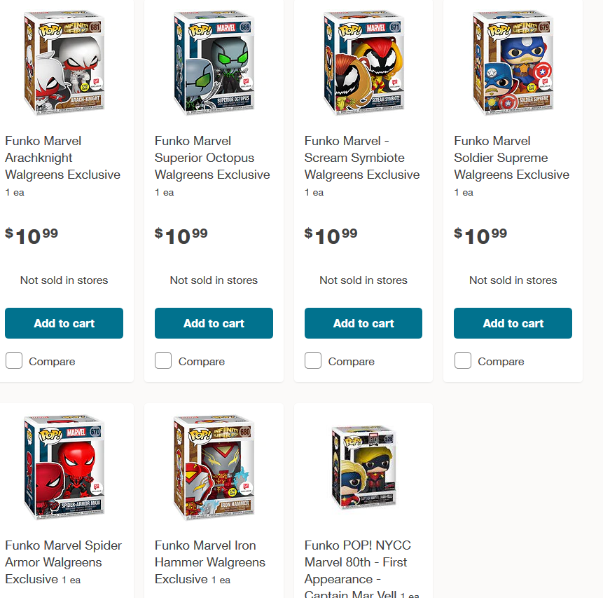 Walgreens exclusive Marvel Spiderman and Infinity Warps now available for preorder! #ad  ► https://t.co/X3oqQnj65m https://t.co/jj4eZzx1s0