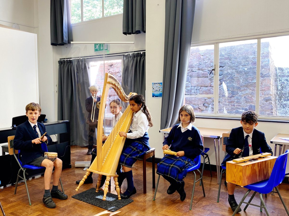 Our Year 6 Creativity and Performance Hub have started rehearsals for their first combined music and drama improvisation, based on creation myths. https://t.co/y8xxYYZ26Y