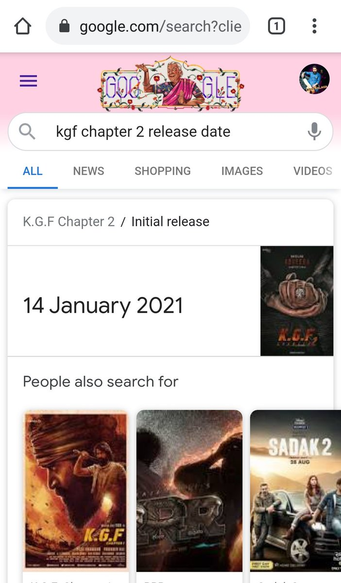 Whether KGFCHAPTER2 Team Given Update Personally To #Google ??  #KGFChapter2 #Yash #YashBoss  @TheNameIsYash @prashanth_neel  @hombalefilms @Karthik1423 @VKiragandur @KRG_Connects @KGFTheFilm https://t.co/GVLcVQGM4k