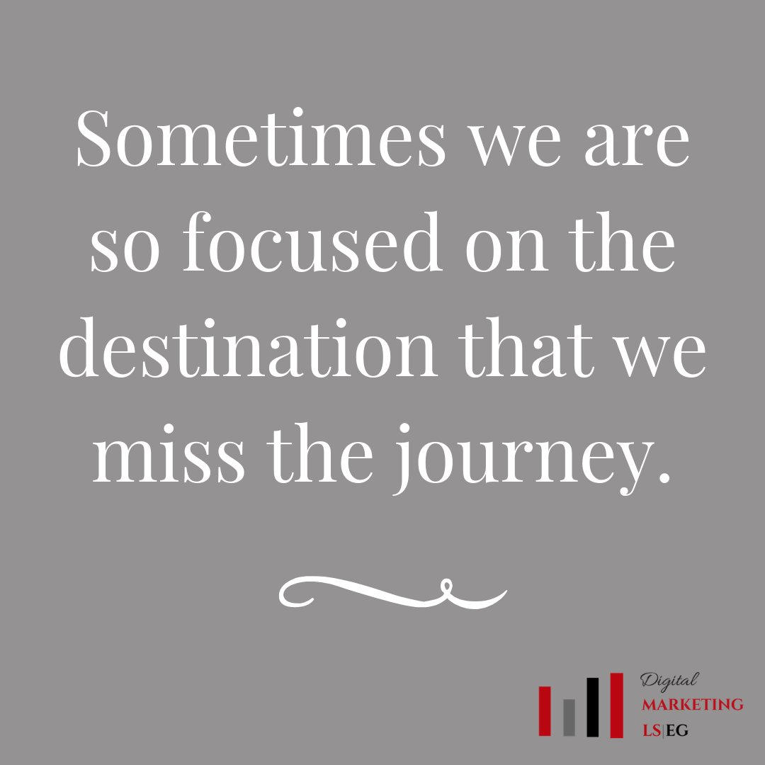 Sometimes we are so focused on the destination that we miss the journey. #cultivatewhatmatters  #livefullyalive  #madetomatter https://t.co/V40WacosJN